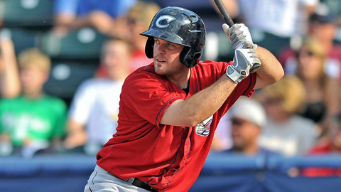Columbus' Tim Fedroff is batting .462 in his first 16 games this month.