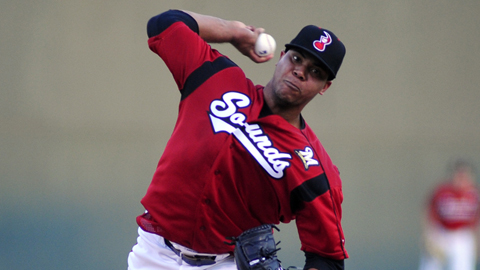 Wily Peralta went 3-1 with a 2.20 ERA in July for the Sounds.