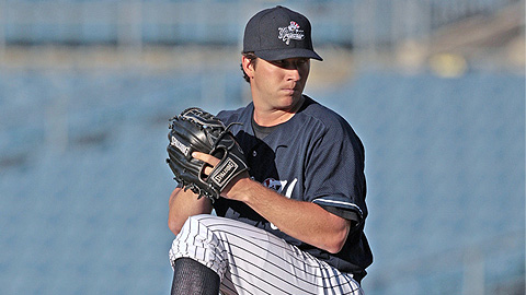 Adam Warren threw 69 of 108 pitches for strikes over eight innings.